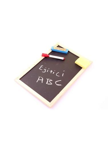 Learning Toys Ahşap Çift Taraflı Yazı Tahtası Seti Renkli
